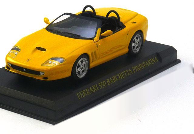 5€                                      Barchetta-Pininfarina-Ferrari-550-Altaya-57694-0