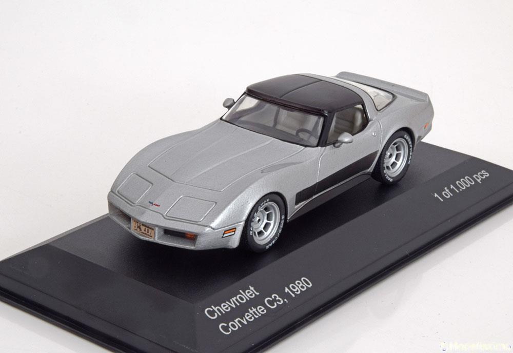 22,95€                            Coupe-Chevrolet-Corvette-C3-White-Box-WB118-0